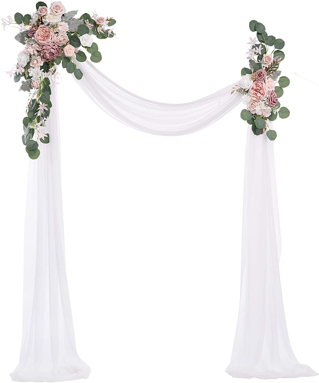 Year-end annual account Ling's moment Artificial Wedding Super-cheap Arch Flowers of Pack 3 Kit - 2