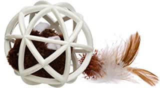 Our Pets Play-N-Squeak Twinkle Ball of Furry Fury Cat Toy