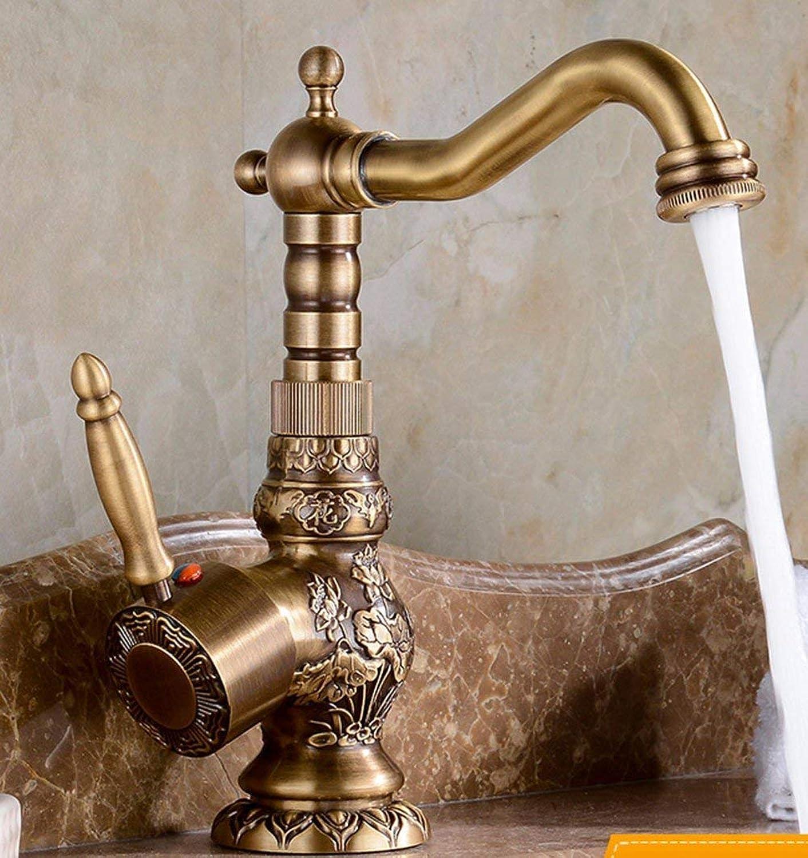 JINSH HOME Kitchen Bath Fixture faucet Kitchen Bathroomredate The Copper Single Hole-