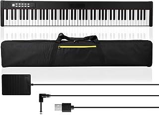 Electric Piano, Andoer 88 Keys Digital Music Electronic Keyboard Kids Multifunctional Electric Piano Rechargeable Beginner...