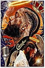 T-396 Nipsey Hussle Hot Hip Hop Rap Music Star Art Poster Silk 30 24x36
