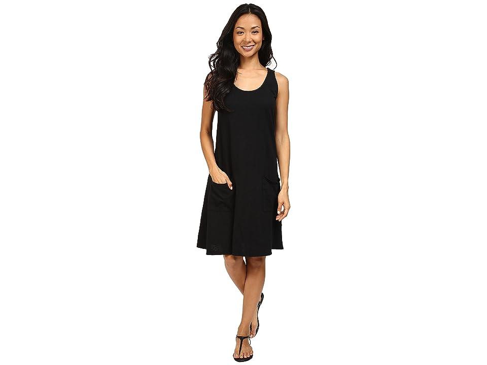 Fresh Produce Drape Dress (Black) Women
