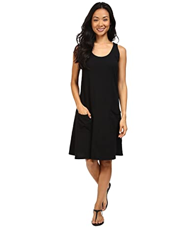 Fresh Produce Drape Dress (Black) Women