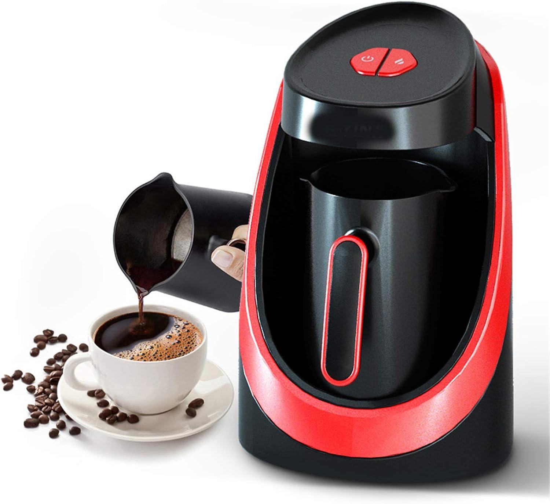 Machine à café automatique Grande Capacité Machine à expresso avec fonction d'auto-nettoyage Opération One Touch Chauffage rapide pour la maison, le bureau, le camping-car Red