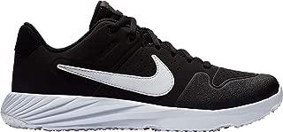 Nike Kid's Alpha Huarache Varsity Turf Baseball Cleats (Black/White, 5.5 M US)