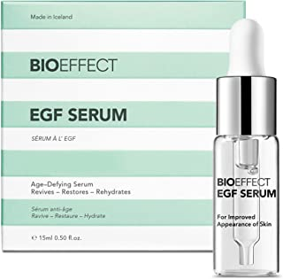Best BIOEFFECT EGF Serum With Hyaluronic Acid, Enhance Skin With Collagen Boosting, Moisturizing, Anti-Aging Treatment For Face And Neck, Day And Night, Best Microneedling And Derma Roller Facial Serum Review