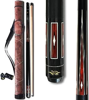 TaiBA 2-Piece Pool Stick + Hard Case,13mm Tip, 58