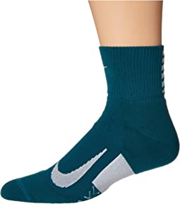 Elite Cushion Quarter Running Socks