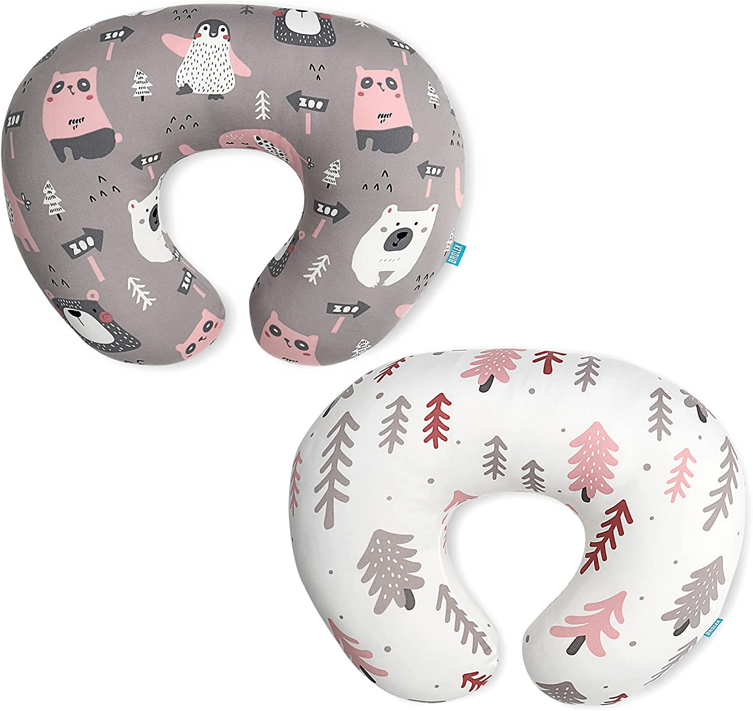 Stretchy Nursing Pillow Slipcovers 4 years warranty Covers-2 Ultra-Cheap Deals Pack