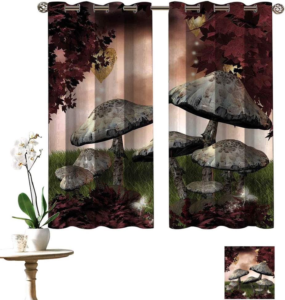 Fantasy Energy Efficient Curtains 4 Outlet SALE years warranty Fairytale Sce Trees Enchanted