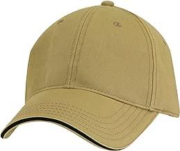 Dorfman Pacific Co. Men's Structured Twill Cap with Sandwich