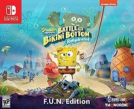 Spongebob Squarepants: Battle for Bikini Bottom - Rehydrated - F.U.N. Edition (Nintendo Switch) - Nintendo Switch F.U.N. E...