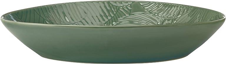 Maxwell & Williams Panama Oval Serving Dish in Gift Box, Stoneware, Kiwi Green, 32 x 23 cm