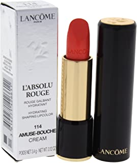 Lancome LAbsolu Rouge Hydrating Shaping Lipcolor - # 114 Amuse-Bouche - Cream, 3.4 g