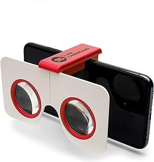 I AM Cardboard DSCVR VR Casque R/éalit/é Virtuelle Le Meilleur Casque Virtuel pour iPhone et Android VR Headset Inspir/é par Google Cardboard v2 Un Cadeau High Tech /à moins de 20 euro