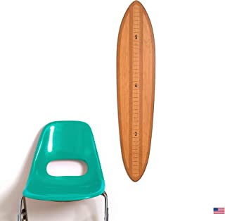 Vintage Brights Wooden Surfboard Growth Chart | Height...