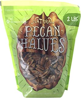 Natural Pecan Havles - 2 lbs. - Approximately 8 cups
