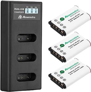 Bateria-cargador estación de carga para Sony CyberShot dsc-rx100 VI dsc-rx100m6