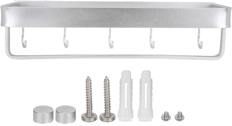 Space Aluminum Multifunctional Shelf Outlet SALE Wall-Mounted Vanit Branded goods Bathroom