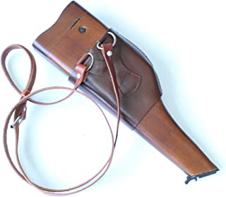 ANQIAO WWII WW2 German Mauser Holster Wood Stock Broomhandle Putt Reproduction