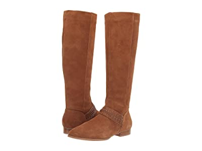 Jack Rogers Tinsley Suede Knee Boot (Oak) Women