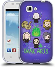 Official Harry Potter Villains 2 Deathly Hallows III Soft Gel Case Compatible for ZTE Blade C2 Plus