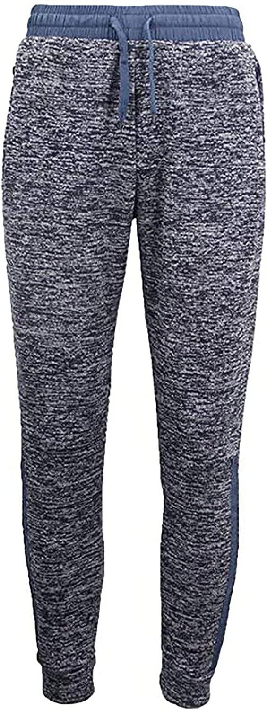 🌻Yowein🌻 Men's Basic Active Jogger Pants Elastic Bottom Sweatpant Athletic Running Track Pants with Zipper Pockets