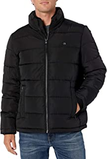 Calvin Klein Men's Alternative Down Puffer Jacket Windbreaker