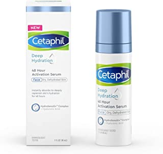 CETAPHIL Deep Hydration 48 Hour Activation Serum | 1 fl oz | 48 Hour Dry Skin Face Moisturizer for Sensitiv...