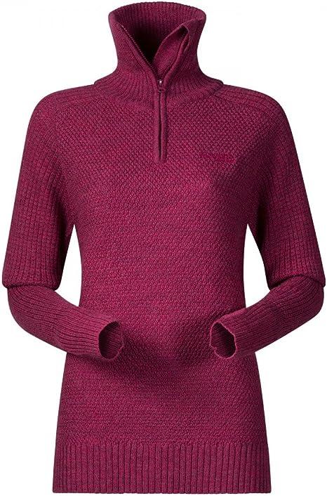 Purple Velvet Melange 2019 Couche interm/édiaire Bergans Ulriken Sweat-Shirt Femme
