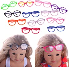 1:12 Black Simulation Glasses Earphone Toys for Children Doll Accessories  .cFEH