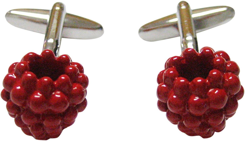 Red Raspberry Fruit Cufflinks