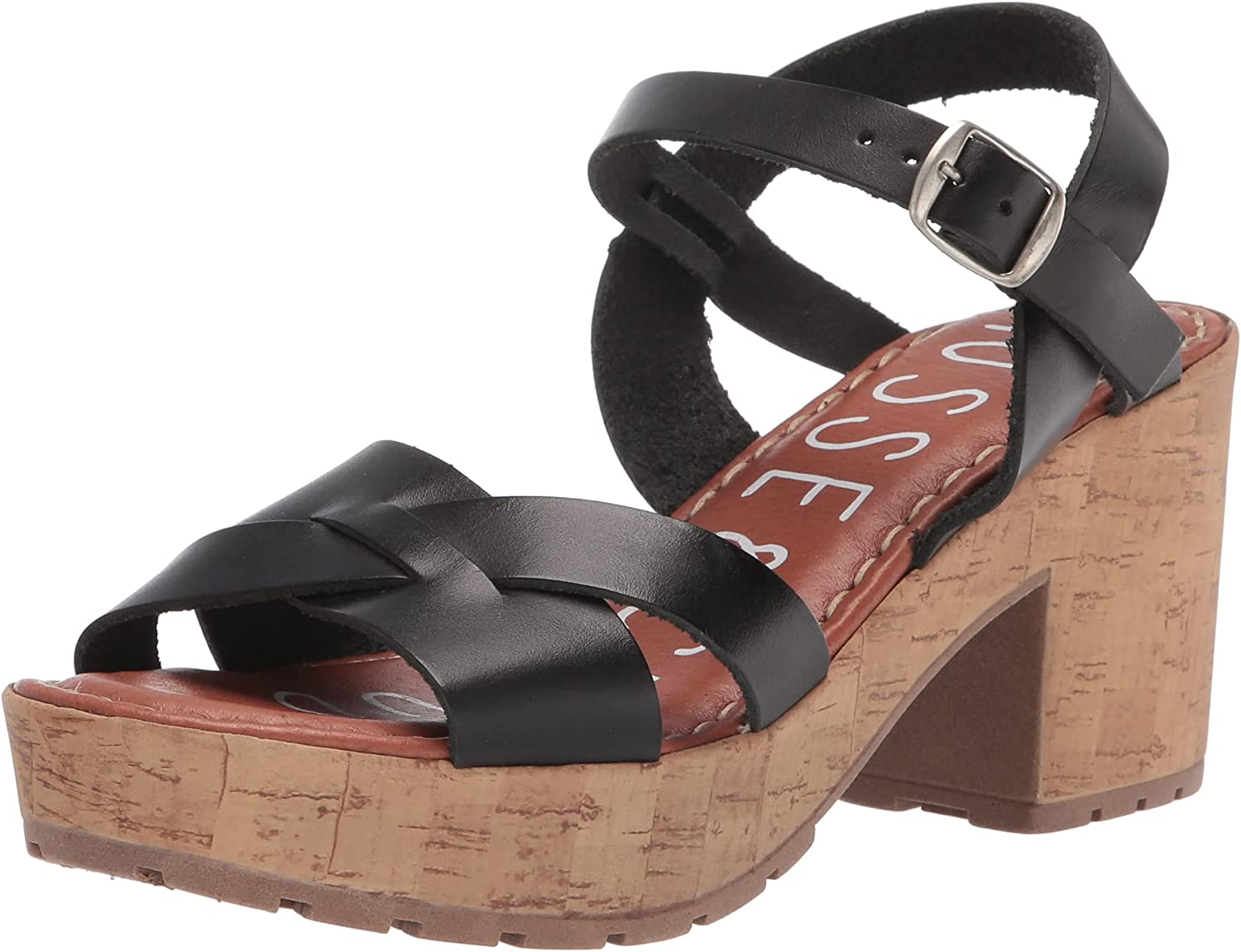 Musse Cloud Women's Virginia Beach Mall Max 90% OFF Ankle-Strap Heeled Sandal