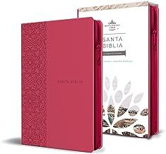 Biblia Reina Valera 1960 letra grande. Símil piel fucsia, cremallera, tamaño manual / Spanish Holy Bible RVR 1960. Handy Size, Large Print, Leathersoft, Zipp (Spanish Edition) PDF