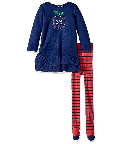 Grow By Gerber Fleece Dress With Tights