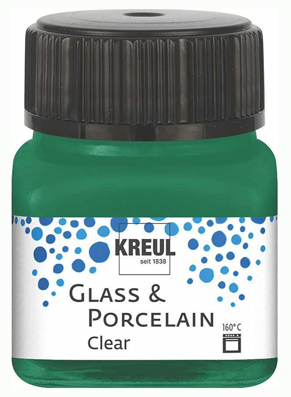 KREUL 16224 Glass and Porcelain Clear Green