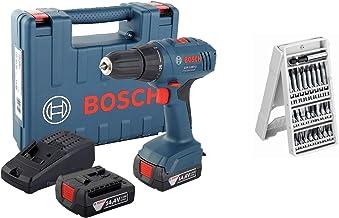 GSR 1440Li, Cordless drill driver with screw bits set