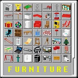 Furniture Craft Mod for PE