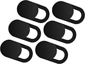 Yarkor Webcam Cover 6 Pack 2019 Web Camera Cover Slide Compatible Laptop, PC, MacBook, iMac, Computer, iPad, Pro, Smartphone, Protect Your Privacy Security Digital Sliding Covers