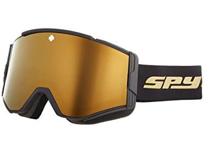 Spy Optic Ace (25th Anniv Black Gold HD Plus Bronze w/ Gold Spectra Mirror) Goggles