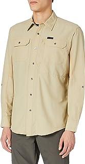 All Terrain Gear by Wrangler Men's Long Sleeve Mixed Material Shirt