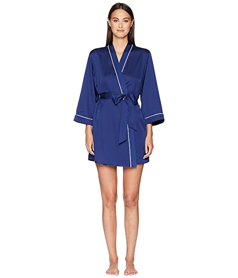 Kate Spade New York Cat Nap Charmeuse Robe