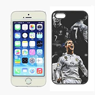 WZSY Cristiano Football Superstar Ronaldo Juventus Case for iPhone 5 iPhone 5s Case,PC Hard Case