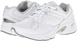 White/White/Metallic Silver