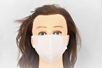 Non Woven Mask, Washable, Reusable, Breathable, w/Double Layer and Elastic band that Contour to fit Tight to your face. 10...