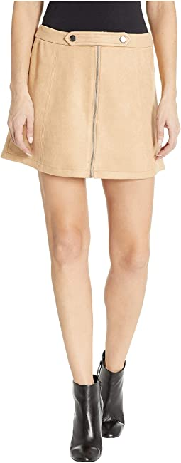 Lady Crush Faux Suede Skirt