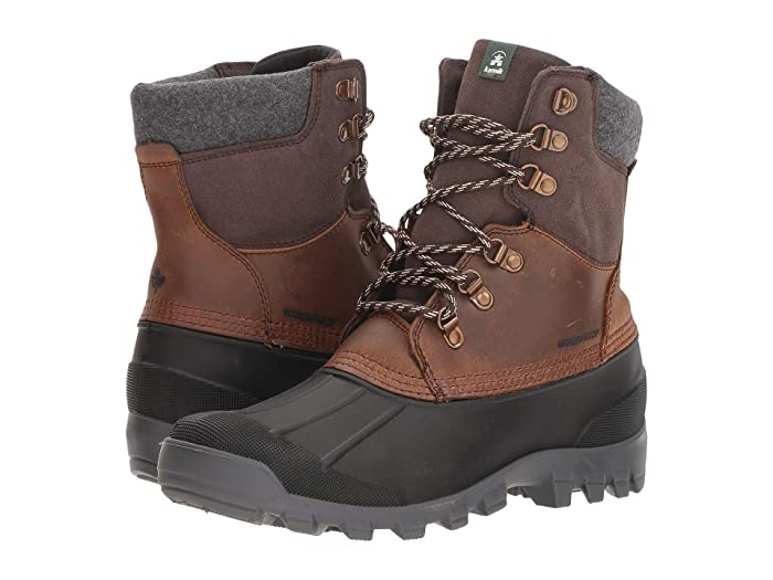 Kamik  Hudson 5 (Dark Brown) Mens Cold Weather Boots