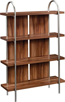 "Sauder Vista Key Bookcase, L: 40.0"" x W: 13.98"" x H: 59.53"", Blaze Acacia"
