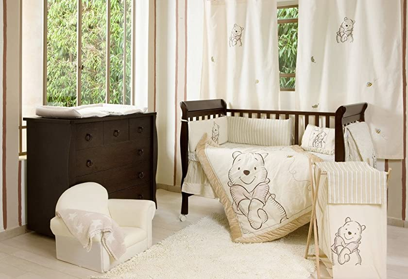 Blancho [Winnie The Pooh] Crib Bedding Collection Accessory - Diaper Bag/Nappy Bag