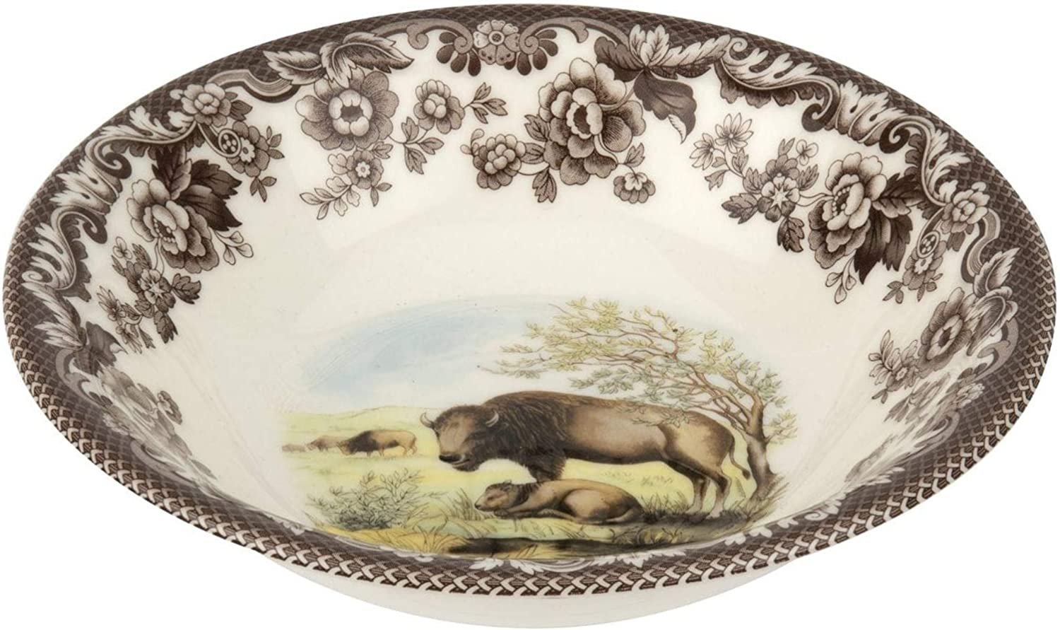 Spode Woodland In a popularity Delamere Ascot Bison Bowl In a popularity Cereal